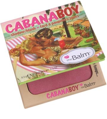 theBalm CabanaBoy colorete y sombra de ojos en un solo producto 2