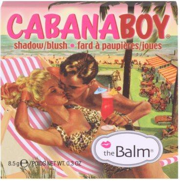 theBalm CabanaBoy colorete y sombra de ojos en un solo producto 3