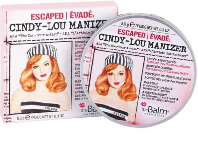 theBalm Cindy - Lou Manizer Highlighter, Schimmer und Lidschatten alles in einem