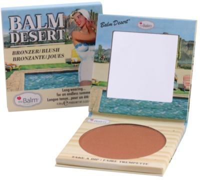 theBalm Desert blush bronzeador