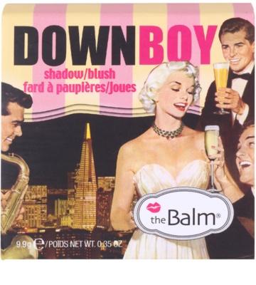 theBalm DownBoy rdečilo in senčilo za oči v enem 3