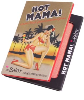 theBalm Hot Mama! colorete y sombra de ojos en un solo producto 2