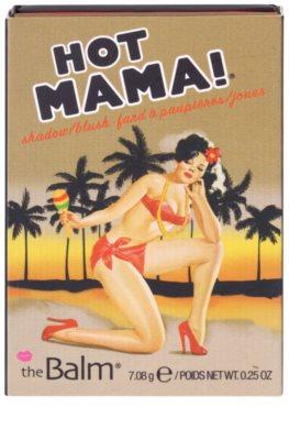 theBalm Hot Mama! colorete y sombra de ojos en un solo producto 3