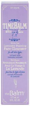 theBalm TimeBalm Skincare Lavender Foaming Face Cleanser pěnivý čisticí gel pro všechny typy pleti 1