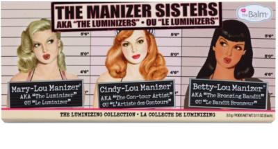 theBalm theManizer Sisters paleta rozjasňovačů 2
