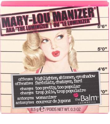theBalm Mary - Lou Manizer kiemelő,csillámosító és árnyékoló egyben 3