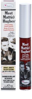 theBalm Meet Matt(e) Hughes barra de labios líquida de larga duración 2