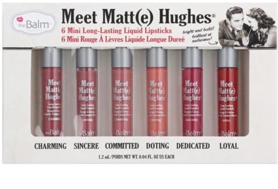 theBalm Meet Matt(e) Hughes kozmetika szett I.