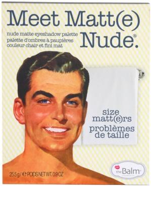 theBalm Meet Matt(e) Nude paleta senčil za oči 3