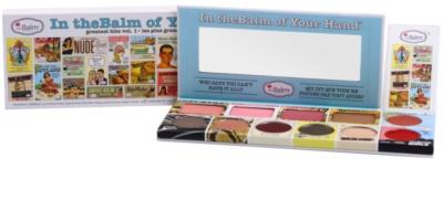 theBalm In theBalm of Your Hand® paleta dekorativní kosmetiky