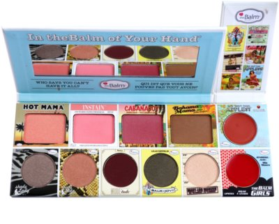 theBalm In theBalm of Your Hand® gama de produse cosmetice make-up 1