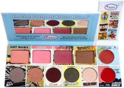 theBalm In theBalm of Your Hand® paleta kosmetyków do makijażu 1
