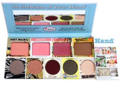 theBalm In theBalm of Your Hand® paleta kosmetyków do makijażu 2