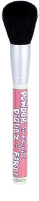 theBalm Powder To The People pincel para pó e blush