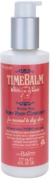 theBalm TimeBalm Skincare Rose Face Cleanser gel crema restorativ pentru curatare delicata pentru piele normala si uscata 1