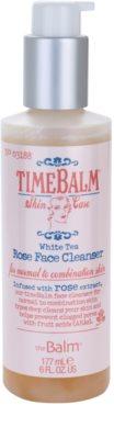 theBalm TimeBalm Skincare Rose Face Cleanser sanfte Reinigungsemulsion für normale bis fettige Haut 1