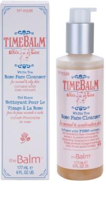 theBalm TimeBalm Skincare Rose Face Cleanser sanfte Reinigungsemulsion für normale bis fettige Haut