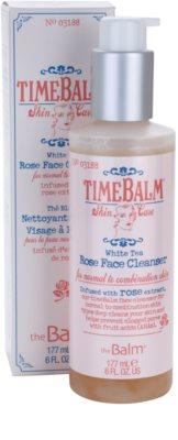 theBalm TimeBalm Skincare Rose Face Cleanser jemná čisticí emulze pro normální až mastnou pleť 2