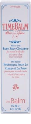 theBalm TimeBalm Skincare Rose Face Cleanser jemná čisticí emulze pro normální až mastnou pleť 3