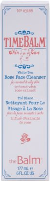 theBalm TimeBalm Skincare Rose Face Cleanser sanfte Reinigungsemulsion für normale bis fettige Haut 3