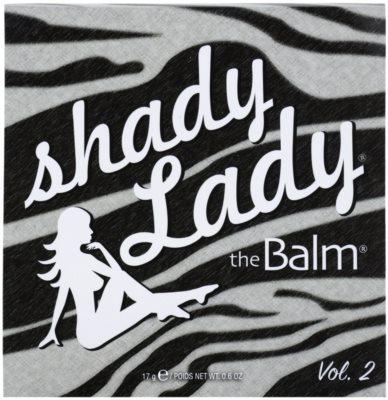 theBalm Shady Lady paleta farduri de ochi 2