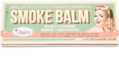 theBalm Smoke Balm Volume Palette mit Lidschatten 2