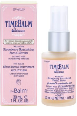 theBalm TimeBalm Skincare Strawberry Nourishing Facial Serum nährendes Serum