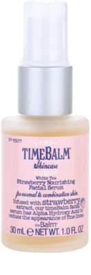 theBalm TimeBalm Skincare Strawberry Nourishing Facial Serum vyživující sérum 1
