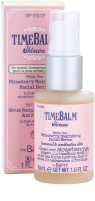 theBalm TimeBalm Skincare Strawberry Nourishing Facial Serum подхранващ серум 3