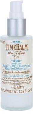 theBalm TimeBalm Skincare Vanilla Oil-Absorbing Face Moisturizer crema de textura ligera y no grasa 2