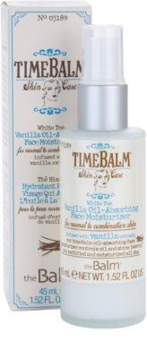 theBalm TimeBalm Skincare Vanilla Oil-Absorbing Face Moisturizer crema de textura ligera y no grasa 3