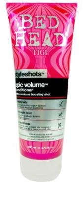 TIGI Bed Head Styleshots Epic Volume acondicionador para dar volumen