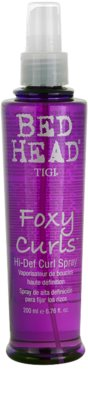 TIGI Bed Head Foxy Curls spray  hullámos hajra