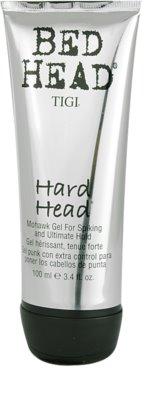 TIGI Bed Head Hard Head gel za lase ekstra močno utrjevanje