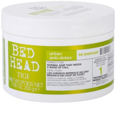 TIGI Bed Head Urban Antidotes Re-energize mascarilla revitalizante para cabello normal