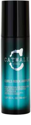 TIGI Catwalk Curlesque Curls Rock Amplifier Cream For Wavy Hair And Permanent Waves