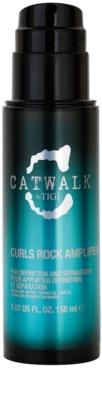 TIGI Catwalk Curlesque Curls Rock Amplifier Cream For Wavy Hair And Permanent Waves 1