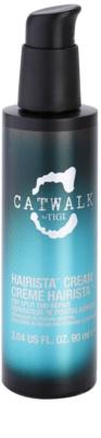 TIGI Catwalk Curlesque schützende und pflegende Handcreme für fusselige Haarspitzen
