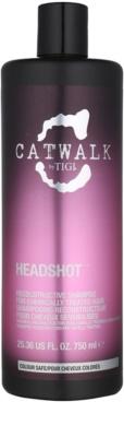 TIGI Catwalk Headshot champô regenerador para cabelo quimicamente tratado