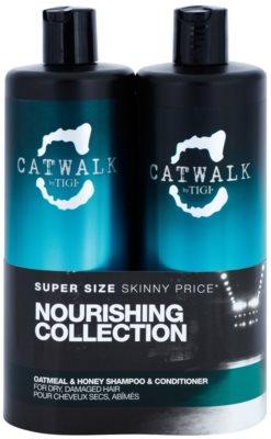 TIGI Catwalk Oatmeal & Honey козметичен пакет  I.