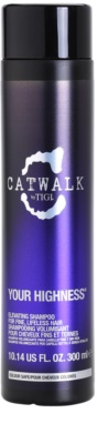 TIGI Catwalk Your Highness Shampoo für mehr Volumen