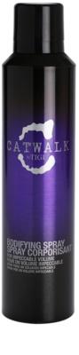 TIGI Catwalk Your Highness spray  a tökéletes dús hatásért