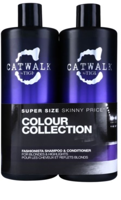 TIGI Catwalk Fashionista lote cosmético II.