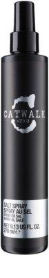 TIGI Catwalk Session Series spray cu sare pentru intarire si o mai buna flexibilitate a parului