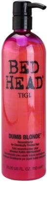 TIGI Bed Head Dumb Blonde балсам за химически третирана коса