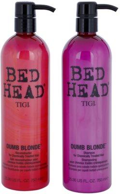 TIGI Bed Head Dumb Blonde kozmetika szett I.
