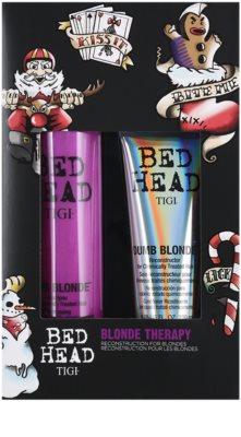 TIGI Bed Head Dumb Blonde kosmetická sada II. 4