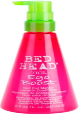 TIGI Bed Head Ego Boost balsam  (nu necesita clatire) pentru varfuri despicate