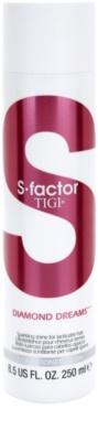 TIGI S-Factor Diamond Dreams kondicionáló a fénylő és selymes hajért