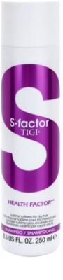 TIGI S-Factor Health Factor sampon száraz, sérült, vegyileg kezelt hajra